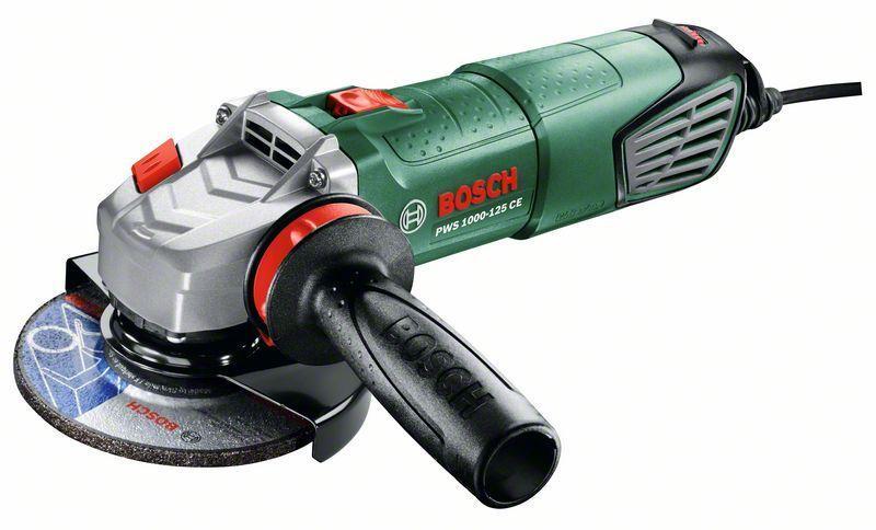 Bosch Úhlová bruska pws 1000-125 ce