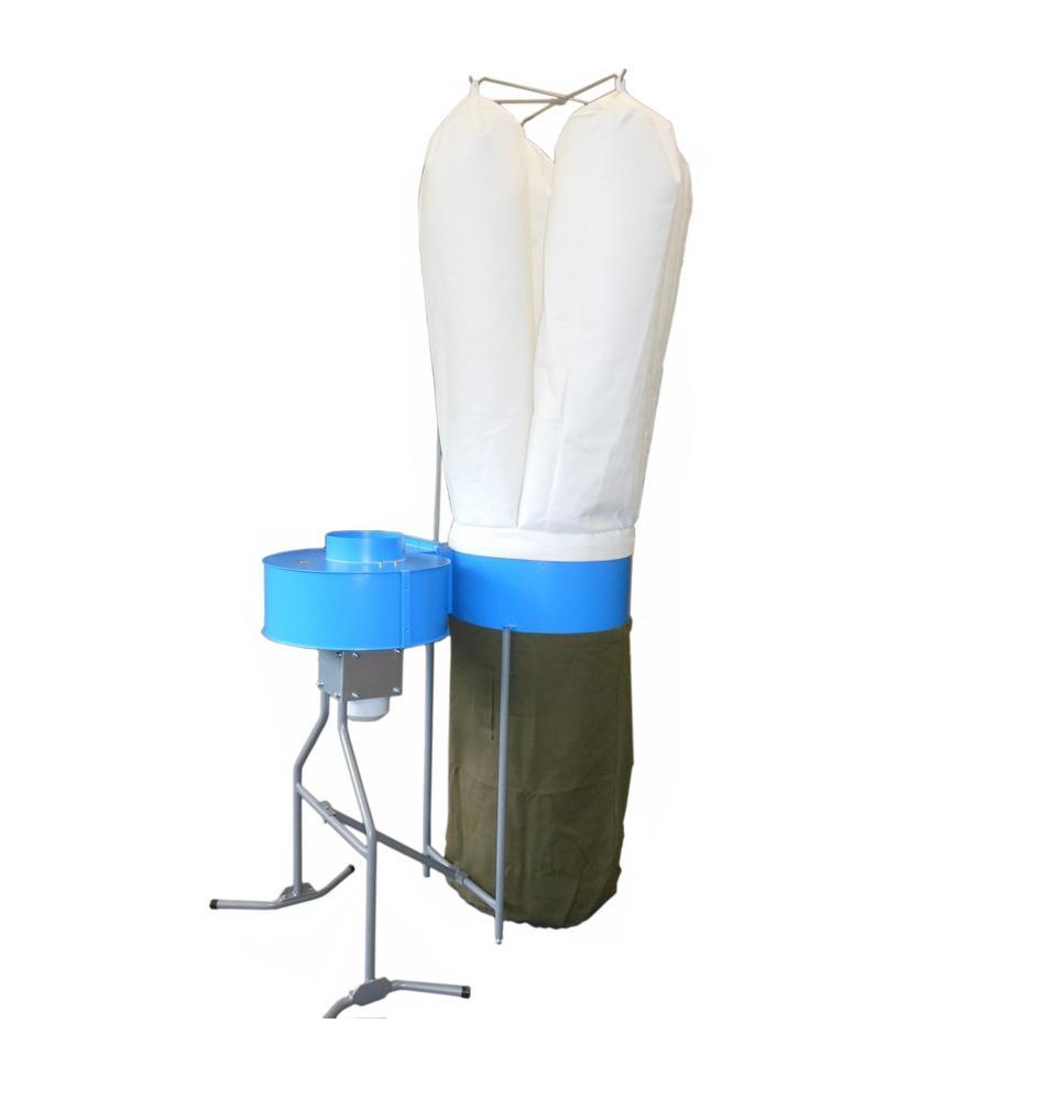Acword Odsávací zařízení FT 401 k olepovacím strojům, textilní odpadní vaky