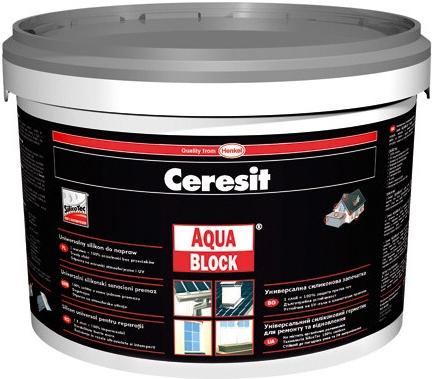 Henkel Ceresit Aquablock kbelík šedá 5 kg