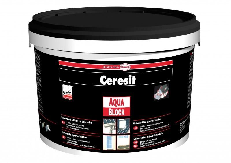 Henkel Ceresit Aquablock kbelík černá 5 kg