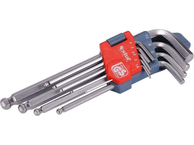 Extol Imbus klíče sada 9 ks 170 mm s kuličkou