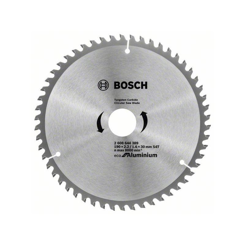 Bosch Pilový kotouč Multimaterial ECO 190x30/16x2,5mm 54TFZ