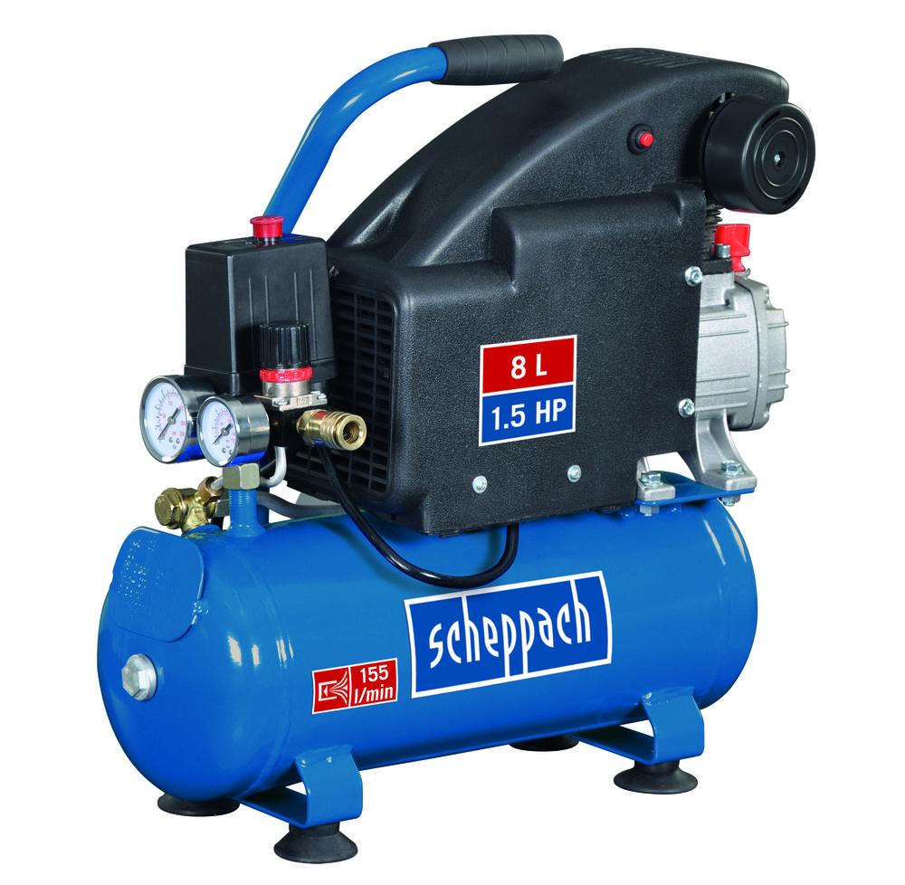 Scheppach Lehký olejový kompresor HC 08