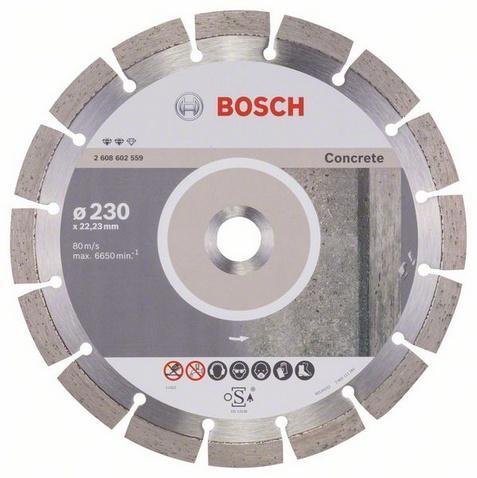 Bosch Diamantový dělicí kotouč 230 mm Expert for Concrete