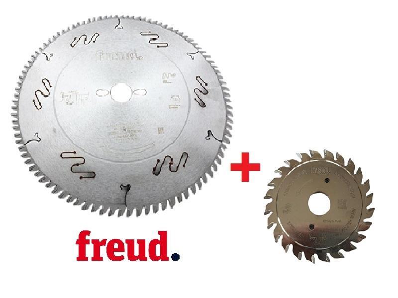 Freud Sada pilového kotouče LU3D 300 mm + předřez LI11M 100