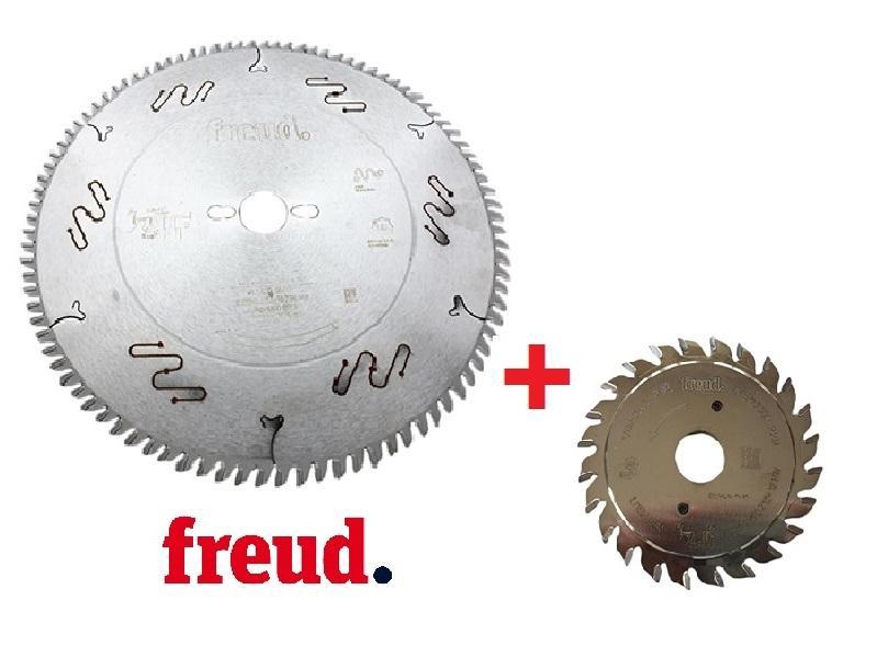 Freud Sada pilového kotouče LU3D 350 mm + předřez LI11M 125