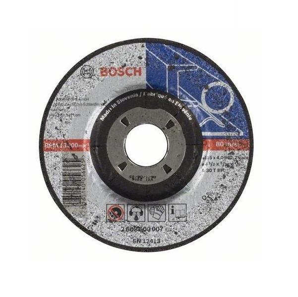 Bosch Brusný kotouč 115x4 mm na železo