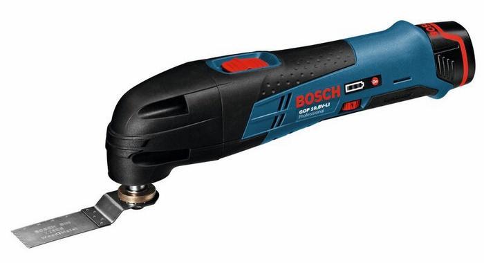 Bosch Aku multifunkční bruska / pilka GOP 10.8 V Li