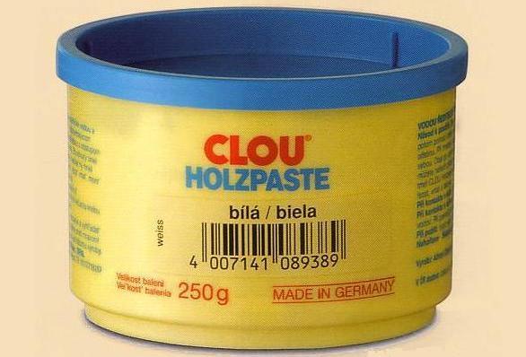 Clou Tmel vodouředitelný Holzpaste