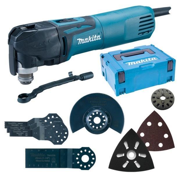 Makita Multifunkční bruska Multi-Tool TM3010CX5J s příslušenstvím