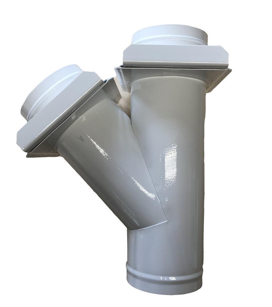 Urban Odbočka s hradítky 150/150/150 mm