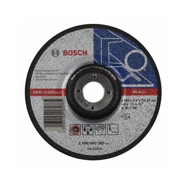 Bosch Brusný kotouč 150x6 mm na železo