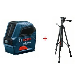 Bosch Křížový laser gll 2-10 + stativ bt150