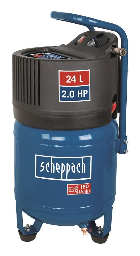 Scheppach Bezolejový vertikální kompresor HC 24 V