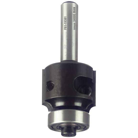 Igm Rádiusová žiletková fréza Z2 R5 D32x19,5 B19/6 S=8mm Z2 HM