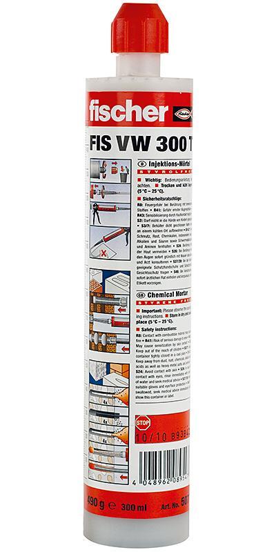 Fischer Malta chemická FIS VW300T