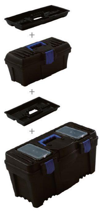 Proma Plastový box s organizérem 2v1 - KP-1225SET