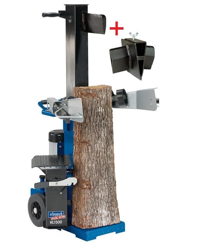 Scheppach Hydraulický štípač HL 1500 + zdarma klín
