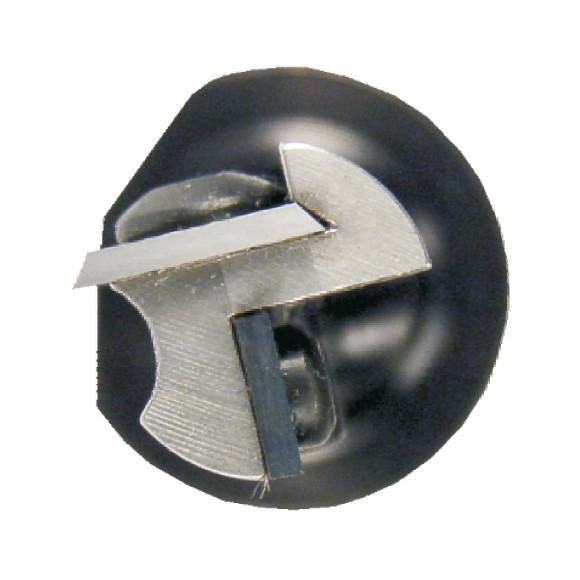 Igm Drážkovací fréza se zavrtávací žiletkou Z1+1 D16x28,3 S=12mm