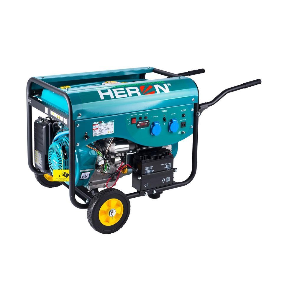Heron LPG 50 Benzínový a plynový generátor 9,5kW MAX