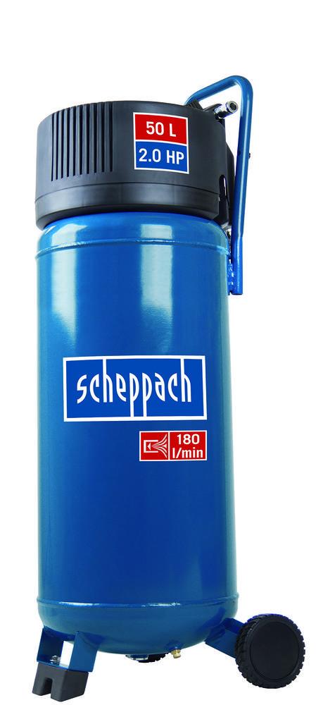 Scheppach Bezolejový vertikální kompresor HC 50 V