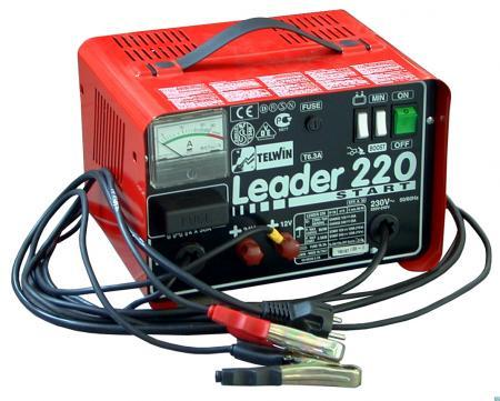 Telwin Leader 220 start - nabíjecí zdroj se startem