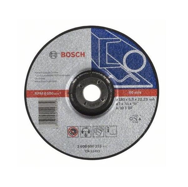 Bosch Brusný kotouč 180x6 mm na železo