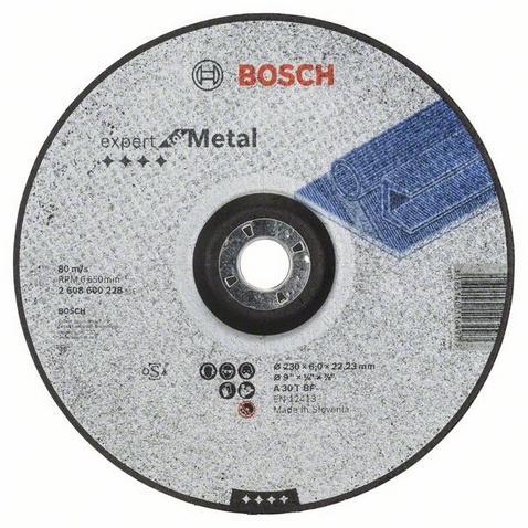 Bosch Brusný kotouč 230x6 na železo