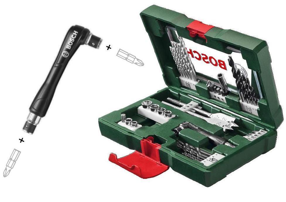 Bosch Sada Bosch 41 dílná šroubovacích bitů a vrtáků s oboustranným šroubovákem