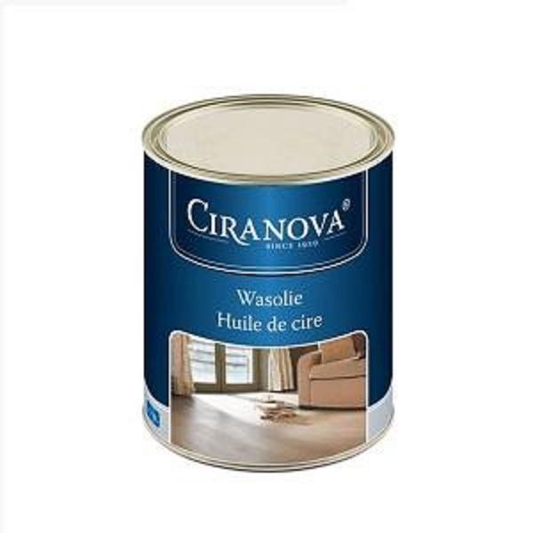 Ciranova Voskový olej na dřevěné podlahy a stěny, bezbarvý, 1l