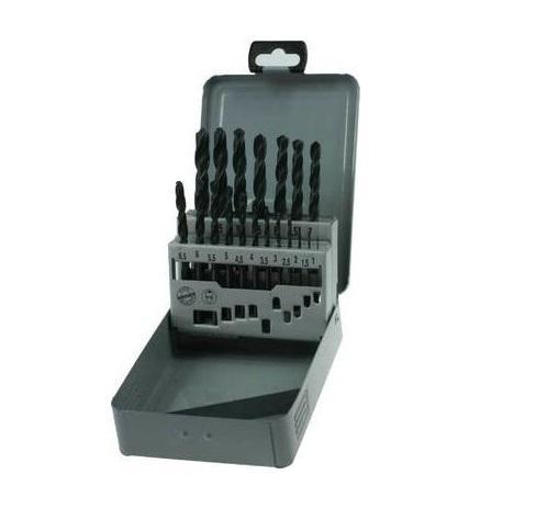 Narex Sada vrtáků do kovu hss-r 19-ti dílná db metal set 1-10 19x