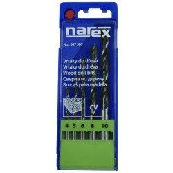 Narex Sada vrtáků do dřeva 5-ti dílná DB WOOD SET 4-10 5x