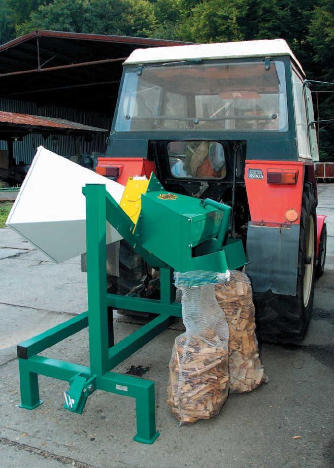 Rojek Drtič dřevní hmoty DH 10 TP - bez kardanové hřídele