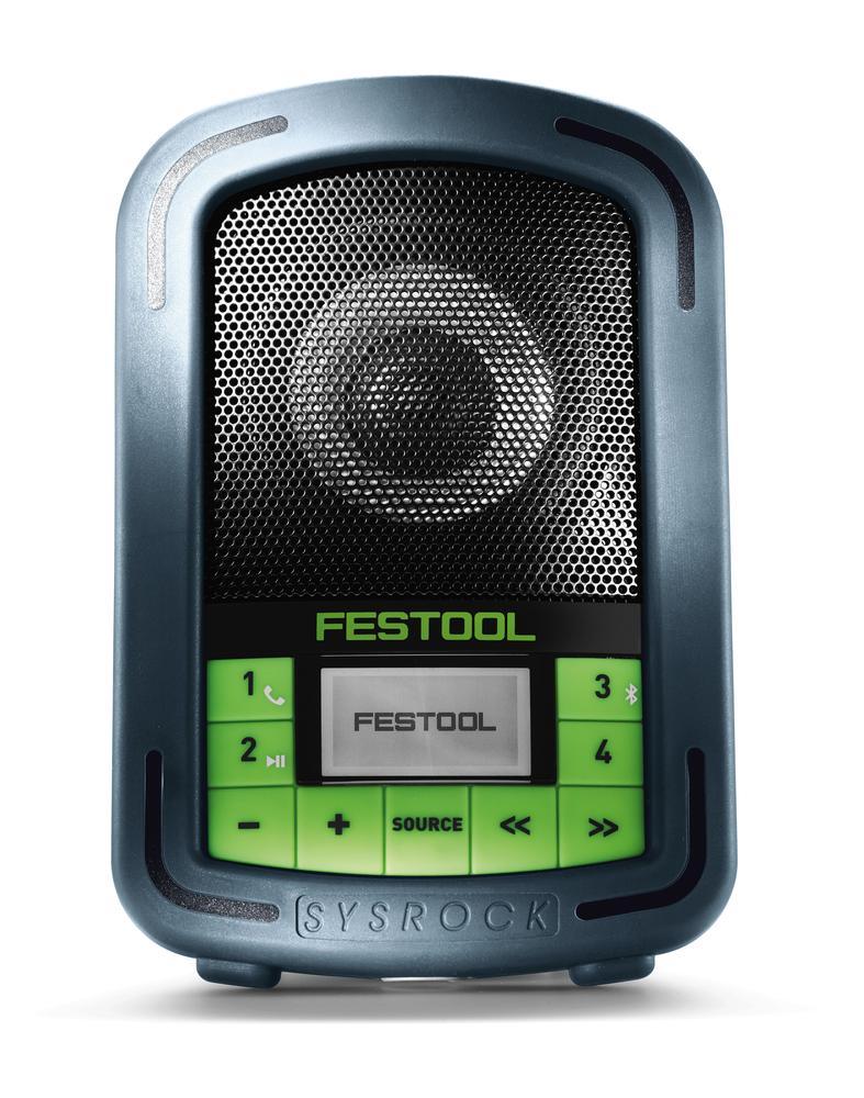 Festool Aku rádio na stavbu SYSROCK BR 10