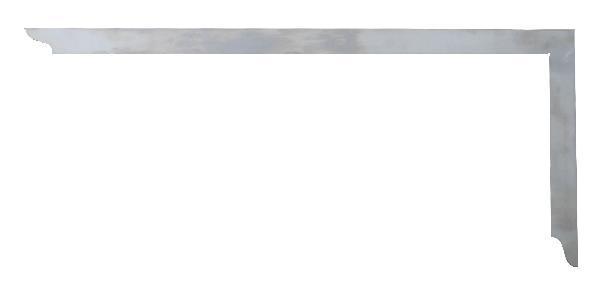 Hedü úhelník tesařský 800x320mm bez mm stupnice bez opisovacích otvorů