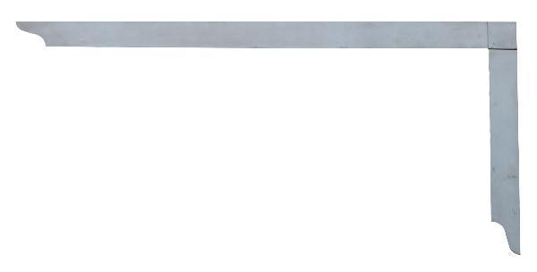 Hedue Tesařský úhelník 1.000 x 380 mm