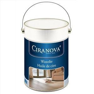 Ciranova Voskový olej na dřevěné podlahy a stěny, bezbarvý, 5l