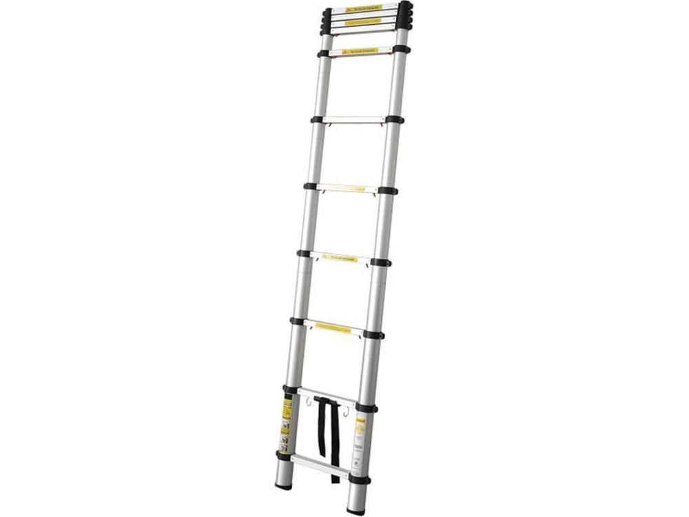 Extol Teleskopický žebřík 3,2m ALU