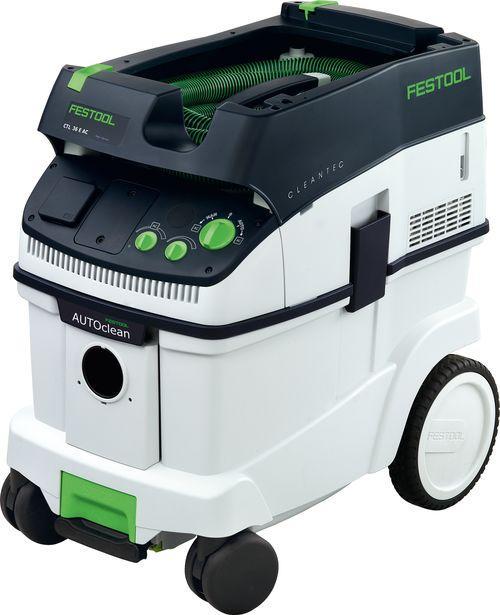 Festool Průmyslový vysavač CTL 36 E AC s oklepem filtrů