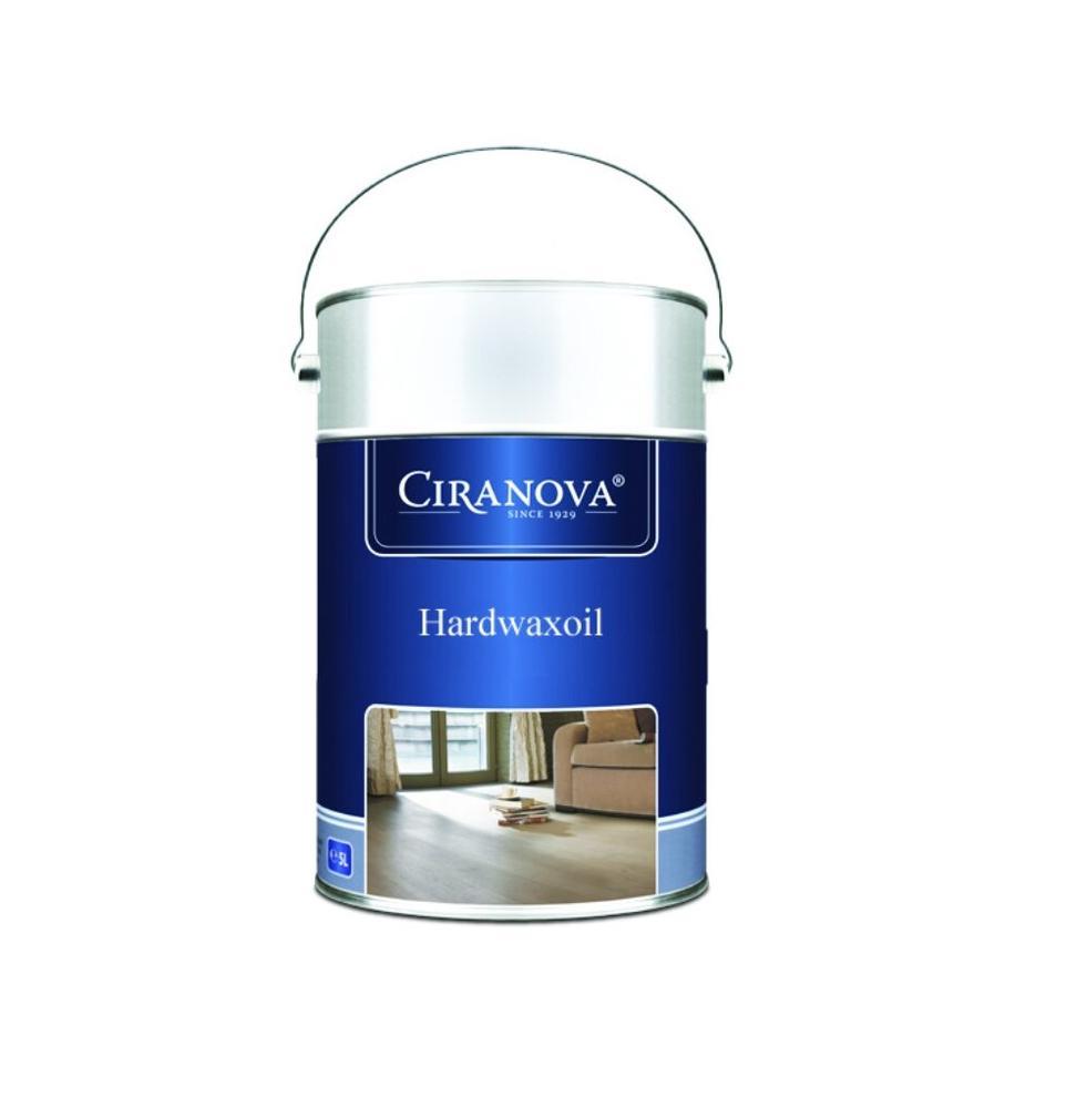 Ciranova Parketový tvrdý voskový olej, BÍLÝ, matný, balení 5 lt