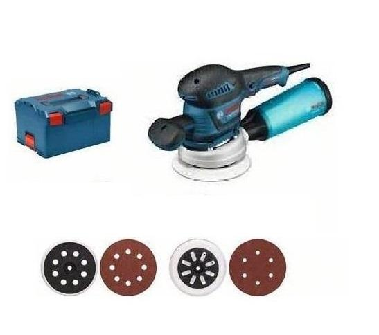 Bosch Excentrická bruska GEX 125-150 ave L-Boxx 125-150mm
