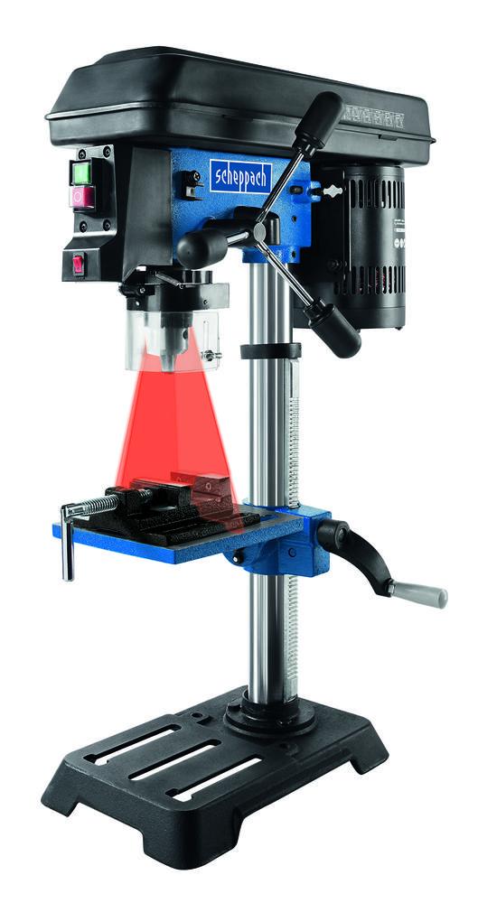 Scheppach Stojanová vrtačka DP 16 SL s křížovým laserem