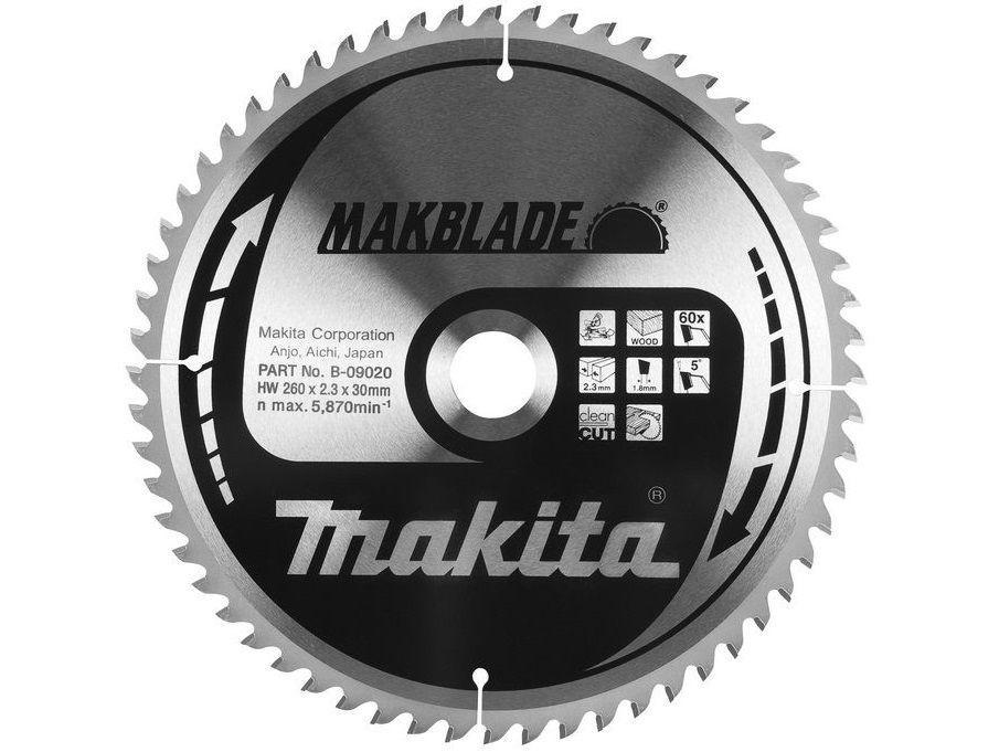 Makita Pilový kotouč 260x2,3x30 60z