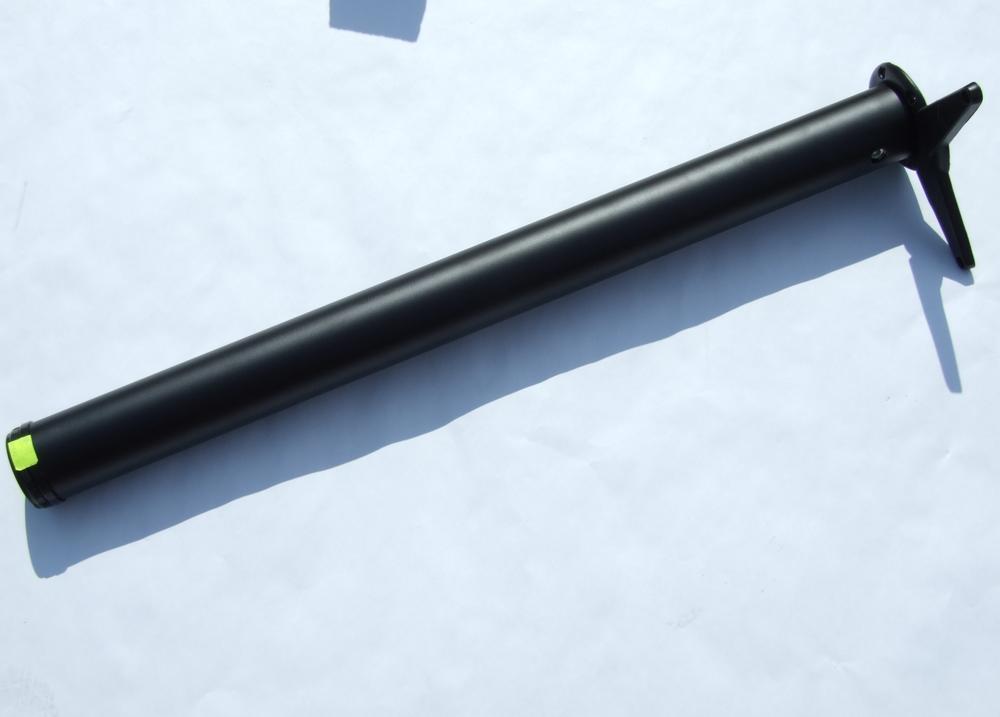 Hk noha stolová 710/60 mm černá
