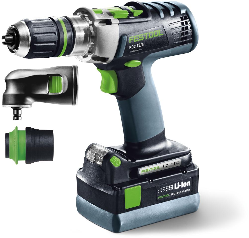 Festool Pdc 18/4 li 5,2-set