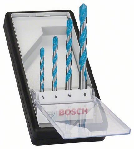 Bosch 4dílná sada víceúčelových vrtáků Robust Line CYL-9 Multi Construction