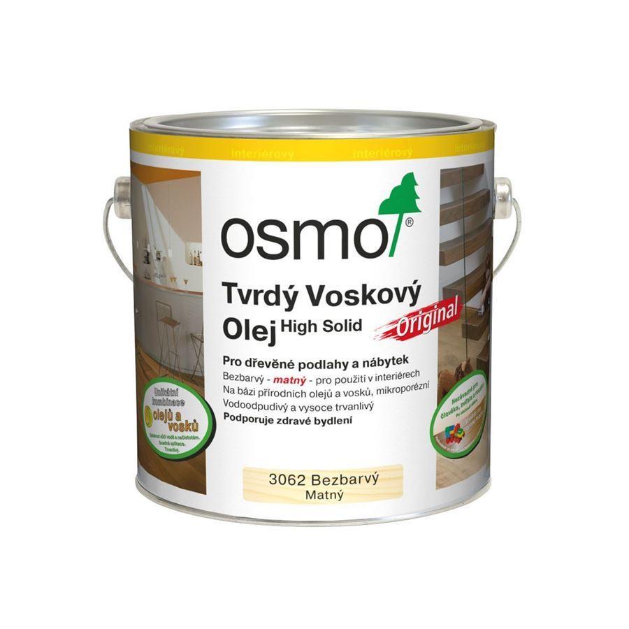 Osmo Tvrdý voskový olej Original - 2,5l bezbarvý - mat 3062