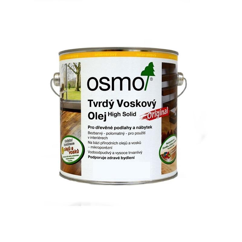 Osmo Tvrdý voskový olej barevný - 0,75l medový 3071