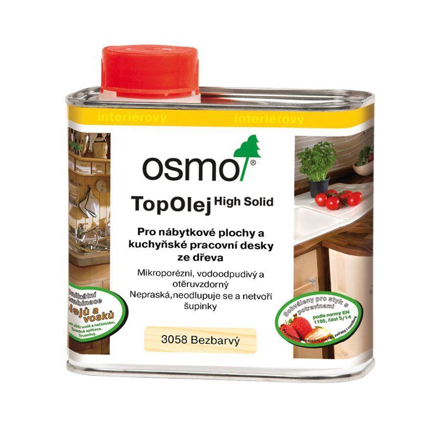 Osmo Top olej - na kuchyňské pracovní desky 0,5l bezbarvý 3058