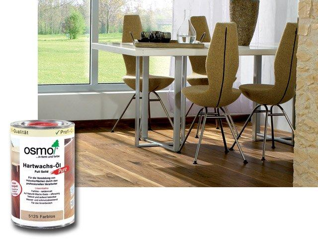 Osmo Tvrdý voskový olej PURE 5125 - na podlahy 1l